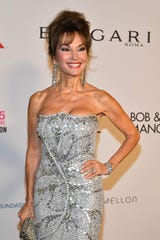 Susan Lucci attends the Elton John AIDS Foundation's Annual Fall Gala with Cocktails By Clase Azul Tequila at Cathedral of St. John the Divine on November 7, 2017 in New York City.
