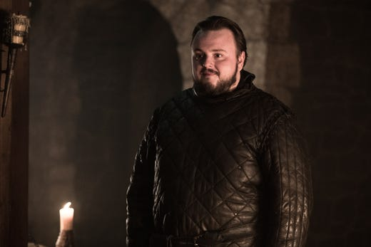John Bradley as Sam on