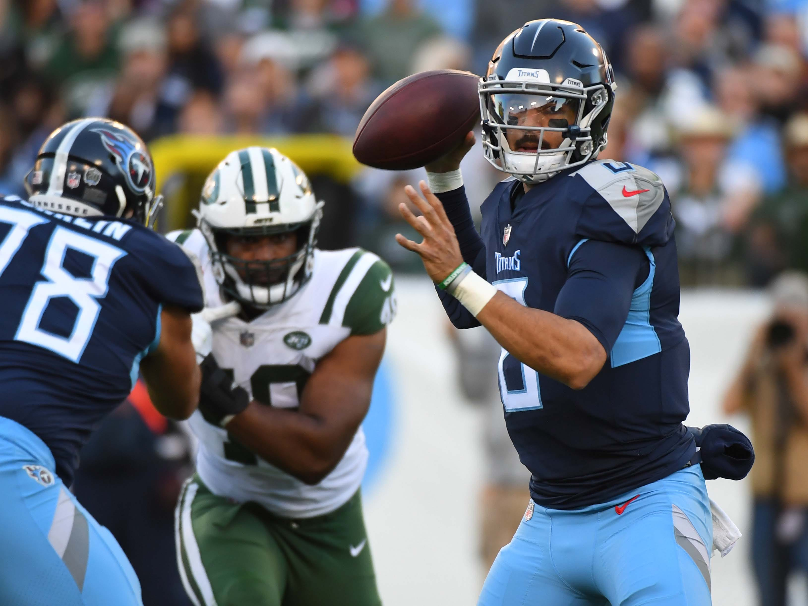 20. Titans (17): They jump gun hiring OC Matt LaFleur for 2018? Arthur Smith becomes Marcus Mariota's fifth play caller after 25th-ranked unit disappointed.