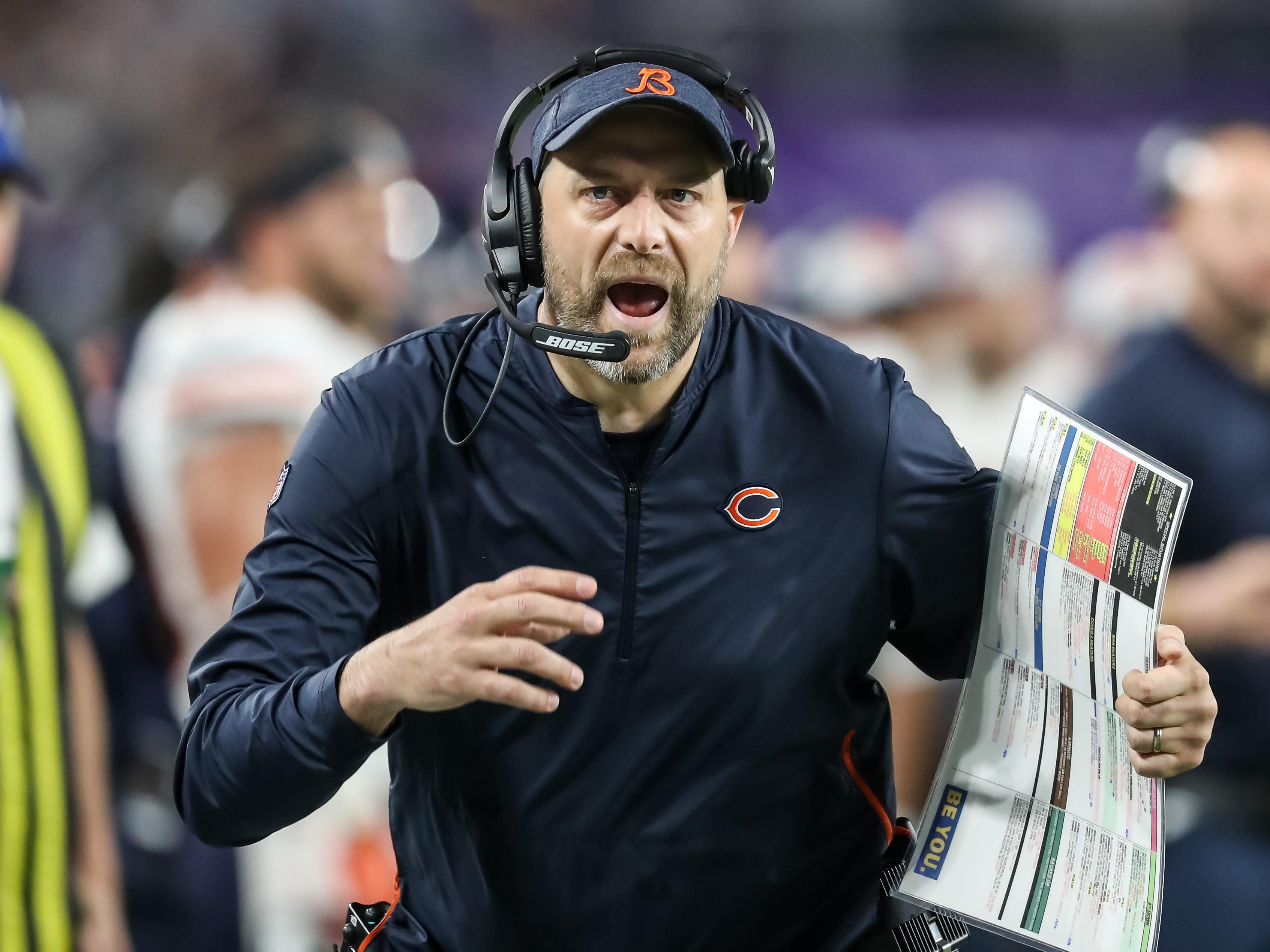 7. Bears (2): Magical season under rookie coach Matt Nagy. But can GM Ryan Pace improve roster with little cap space and no draft pick before Round 3?