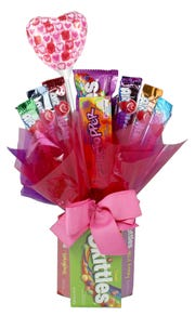 Walmart is selling several candy bouquets in-store and online for Valentine's Day.