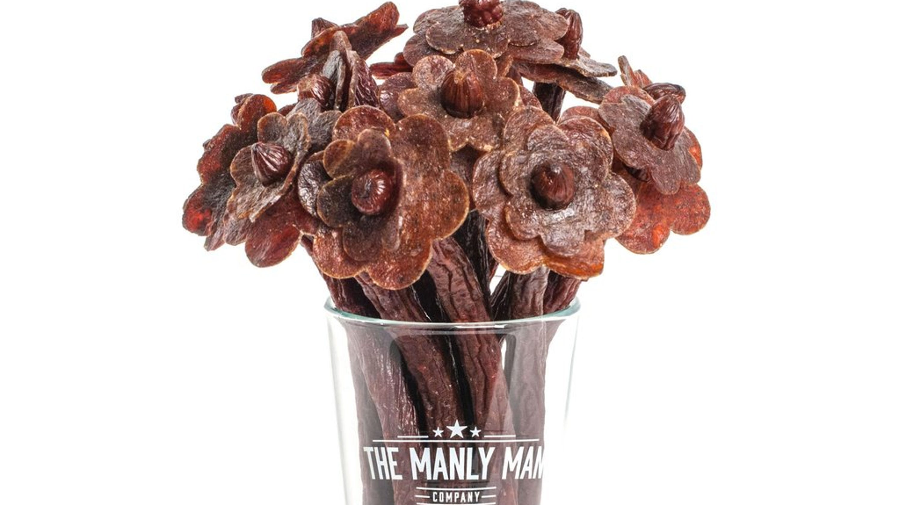 Valentine's Day's Bouquets Get Wacky With Bacon, Beef
