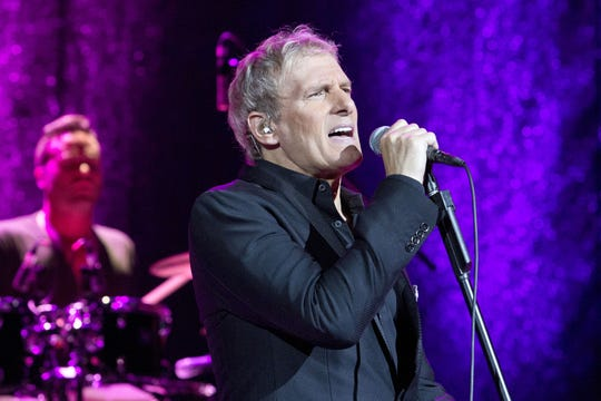 Michael Bolton performs in 2014 in Berlin, Germany.
