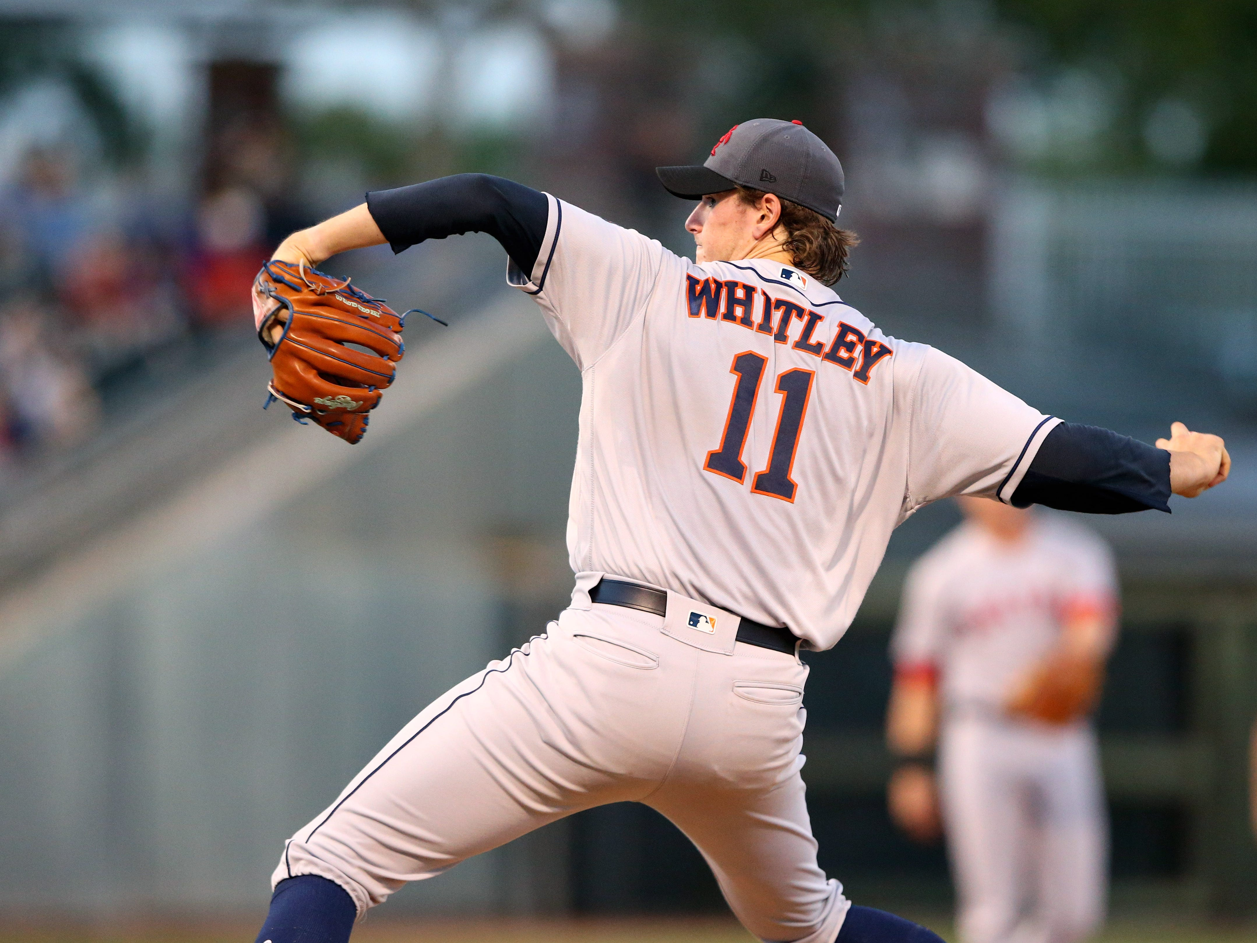 15. Forrest Whitley, RHP, Astros