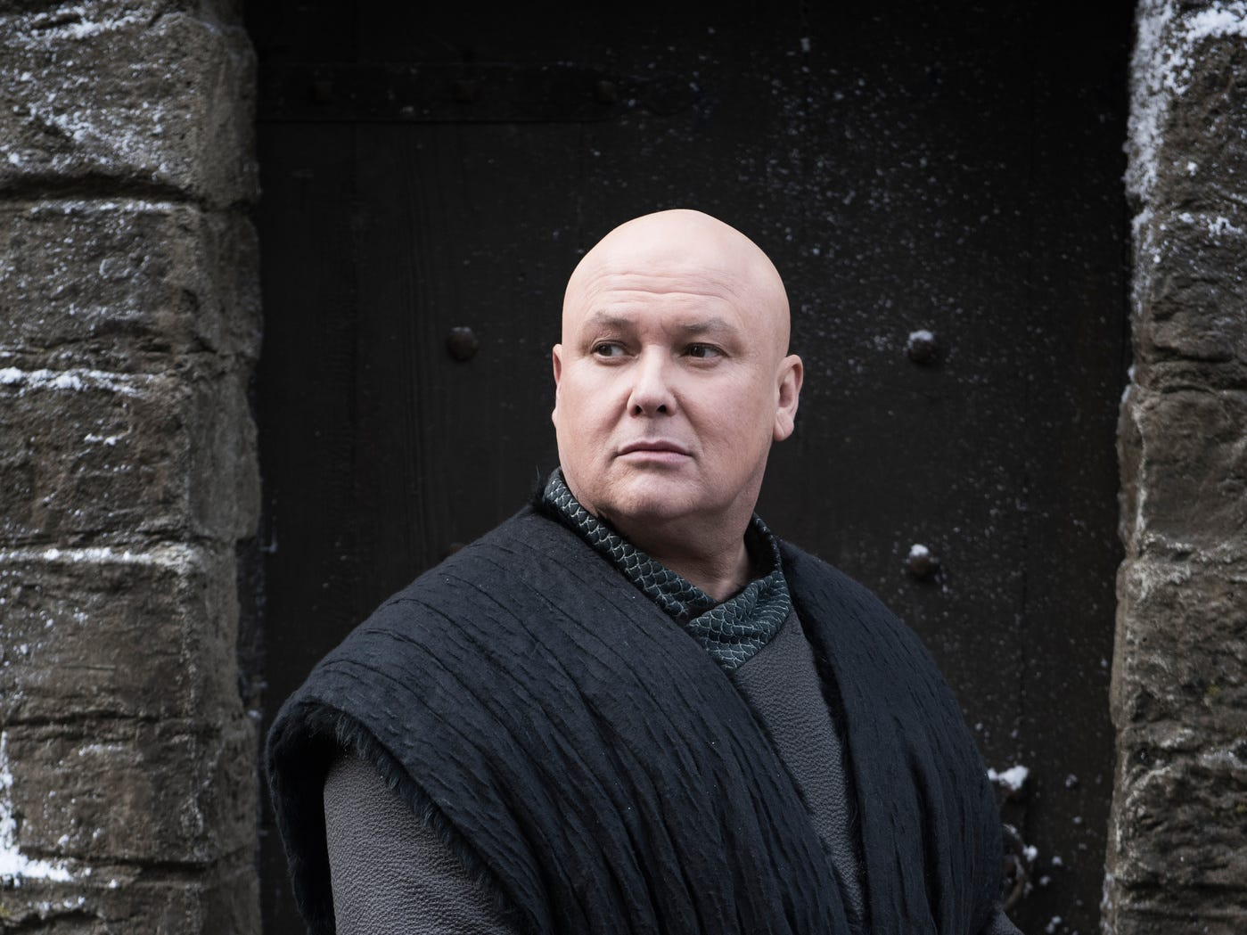 "Conleth Hill as Varys on ""Game of Thrones."""