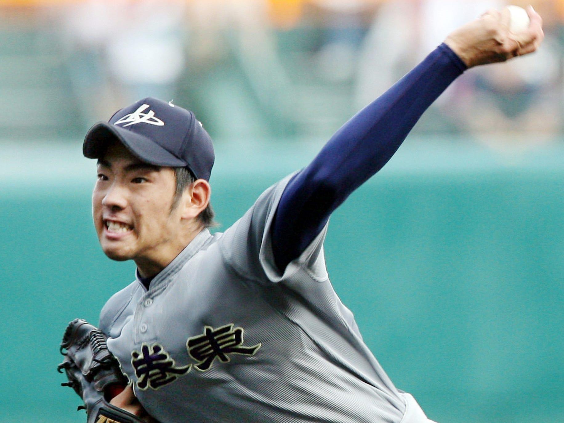4. Yusei Kikuchi, LHP, Mariners