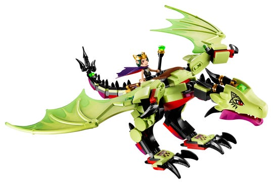 The Goblin King's Dragon is the 3rd LEGO dragon Talbott designed and one of his favorites.