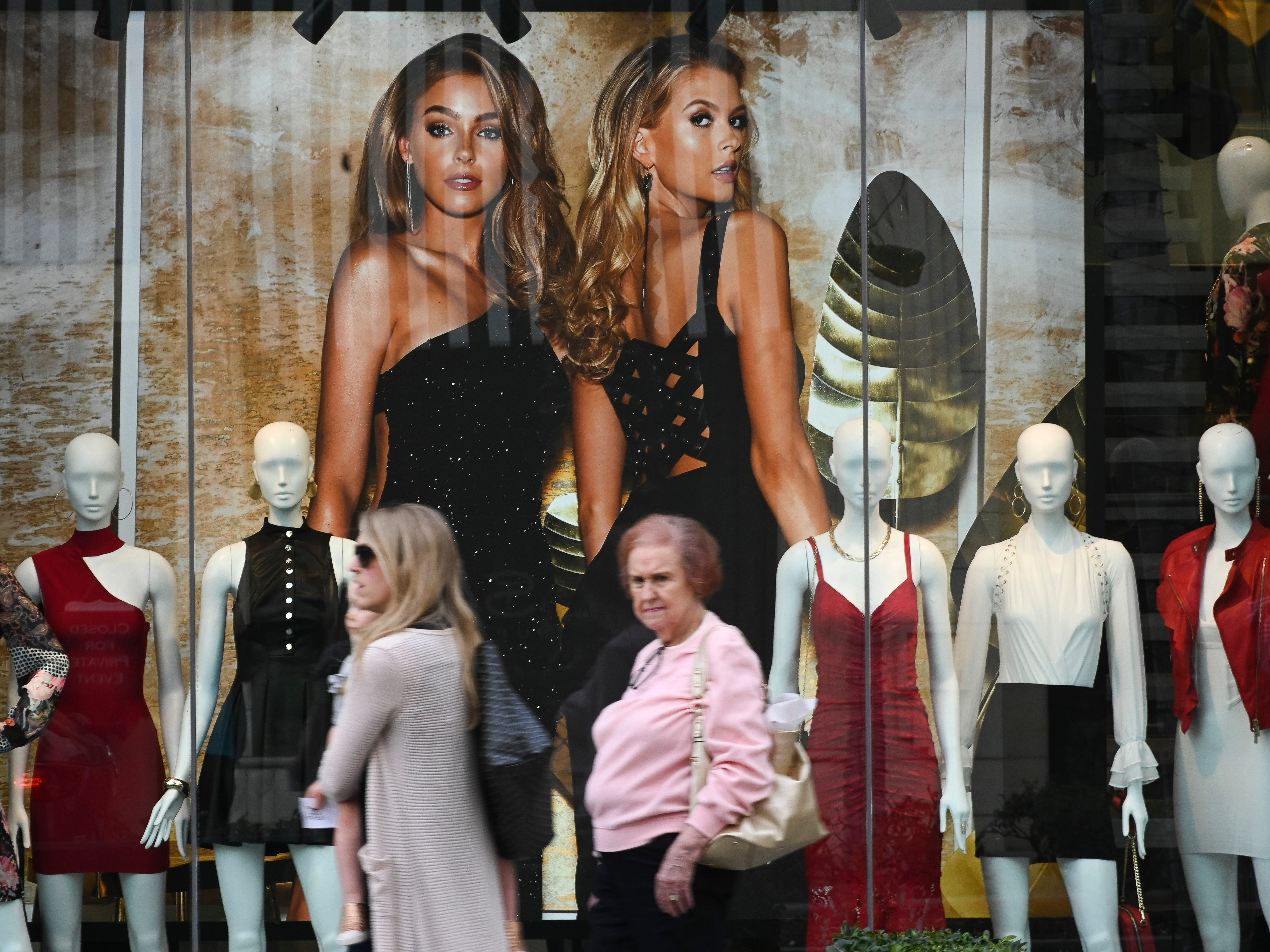 "Today, propelled by movies like ""Pretty Woman"" and TV shows like ""Beverly Hills 90210,"" tourists flock instead to shopping district where they can browse in -- even if they can't afford -- boutiques like Jimmy Choo, Gucci and Van Cleef & Arpels."