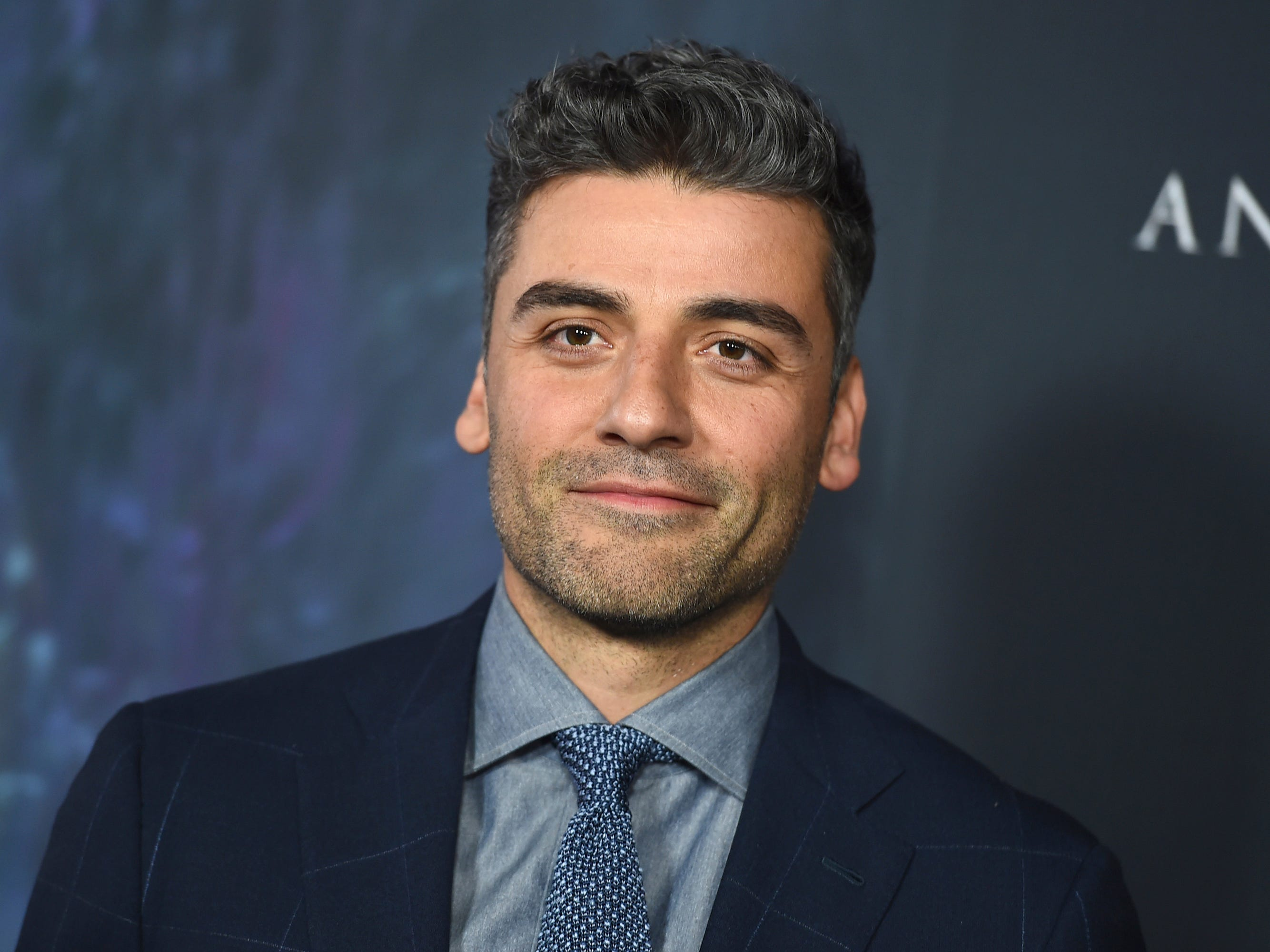 "Oscar Isaac arrives at the Los Angeles premiere of ""Annihilation"" at the Regency Village Theatre on Tuesday, Feb. 13, 2018. (Photo by Jordan Strauss/Invision/AP) ORG XMIT: CAPM130"