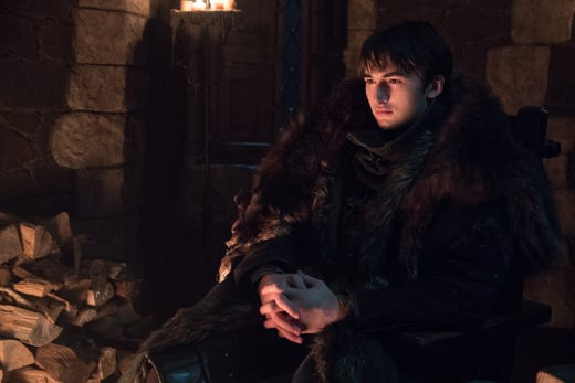 Isaac Hempstead Wright as Bran on