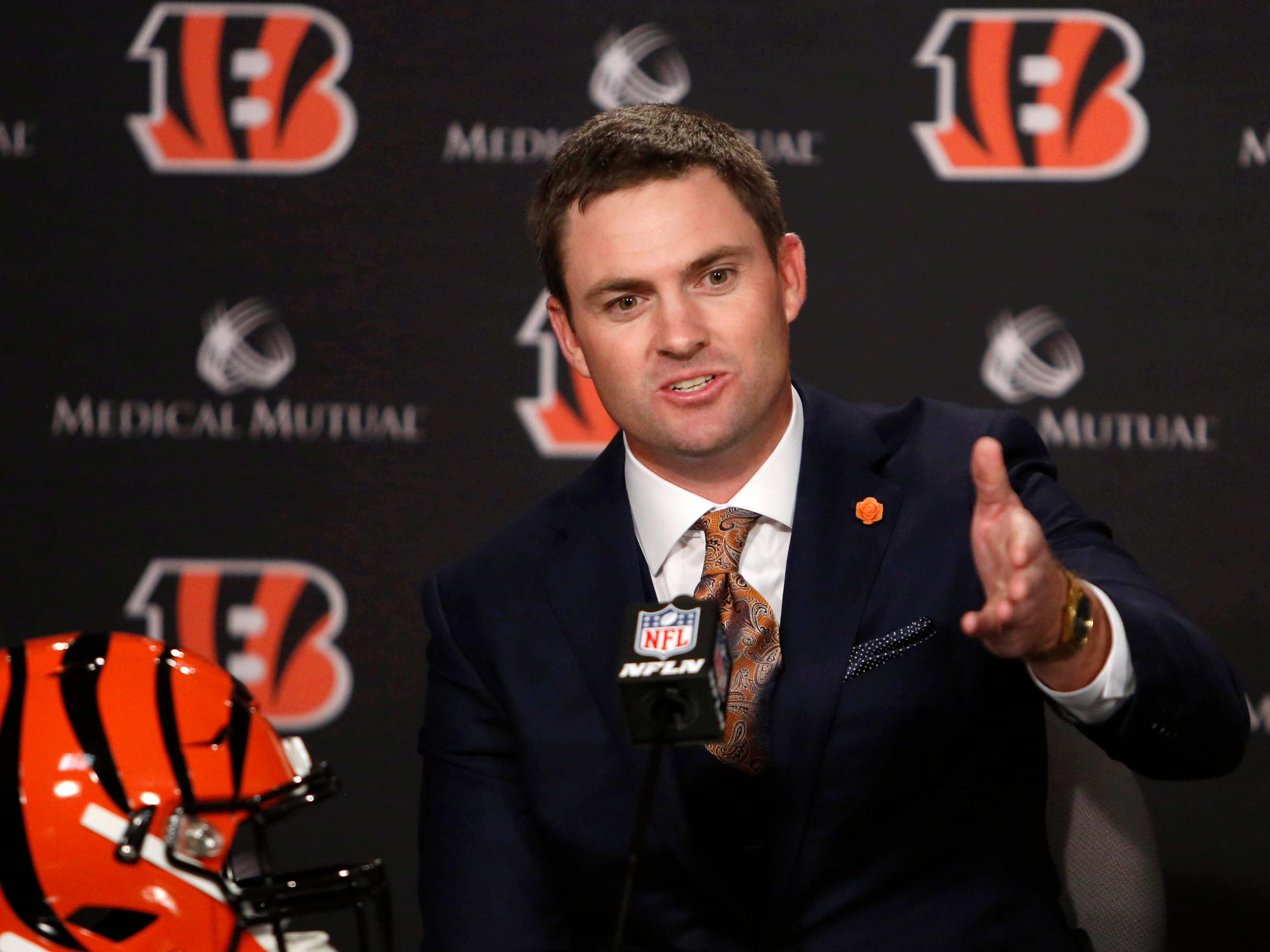 28. Bengals (25): What Cincy fans must've thought as their new boss, erstwhile Rams QB coach Zac Taylor, failed to get Goff on track in Super Bowl.