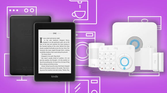 This Wednesday, there are great deals on Kindles, smart alarm systems, and more.