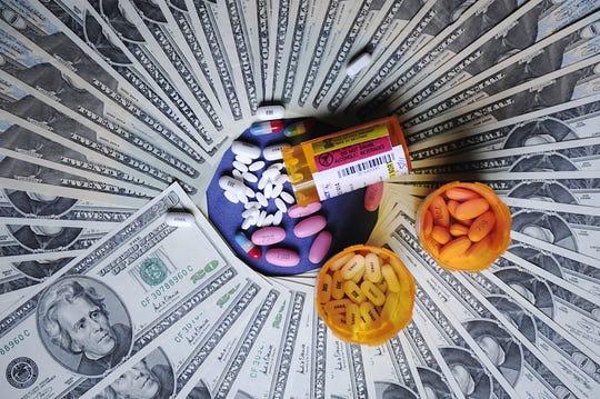 Prescription drugs, October 2009 file photo