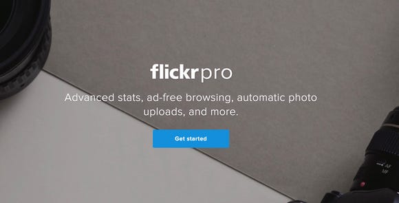 Flickr's pitch for paying for service