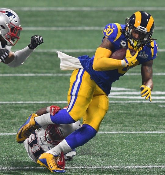 The health of Todd Gurley will be one of the biggest question marks for the Rams this season.