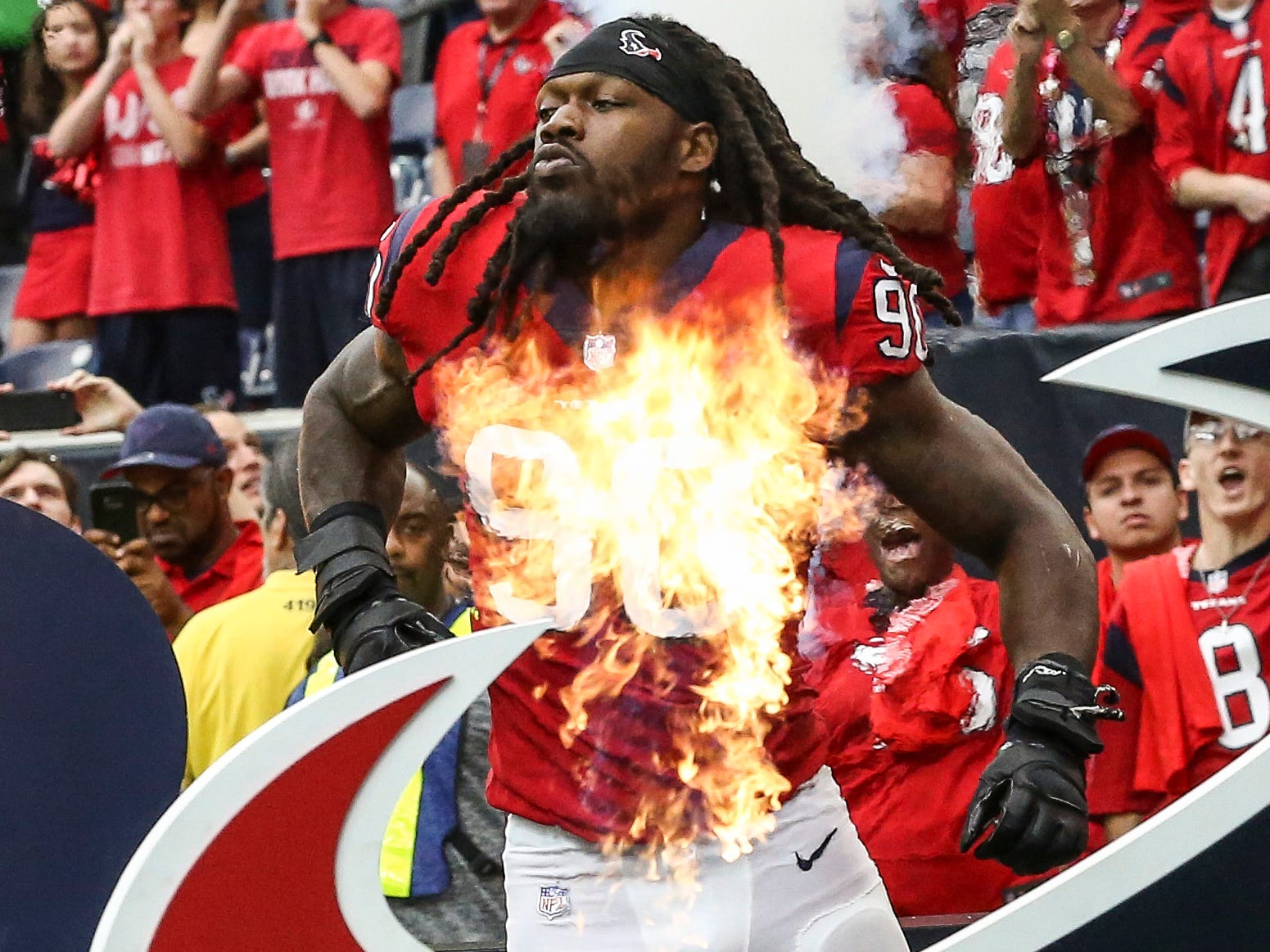 14. Texans (10): Quiet playoff exit didn't dispel notion they feasted on soft schedule. Will chunk of ample cap space go toward new Jadeveon Clowney deal?