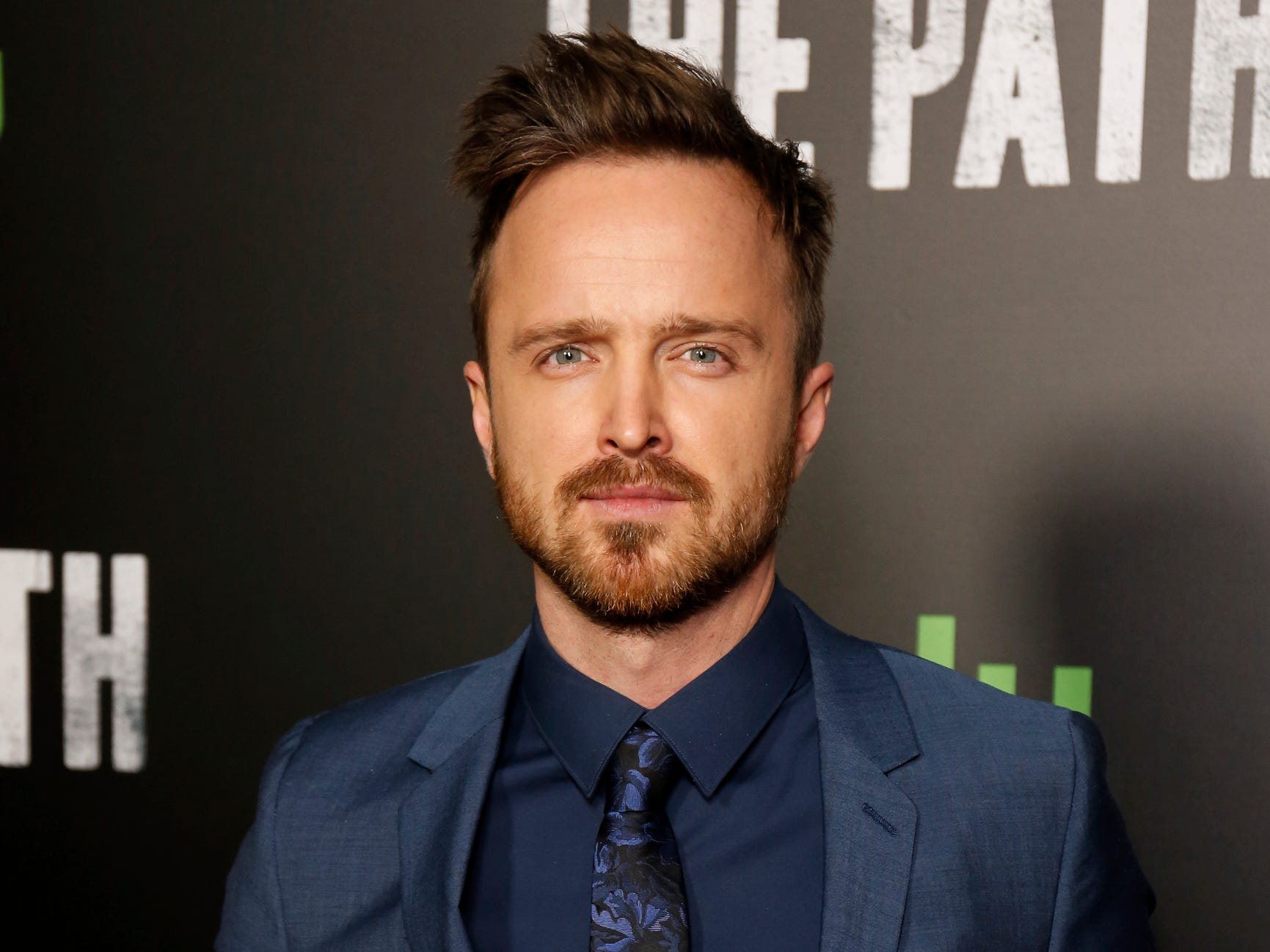 "Aaron Paul arrives at the LA Premiere of ""The Path"" Season Two on Thursday, Jan. 19, 2017, in Los Angeles. (Photo by Willy Sanjuan/Invision/AP) ORG XMIT: CAWS101"