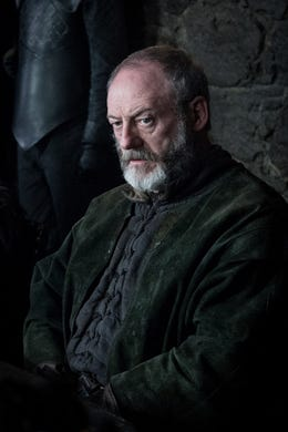 Liam Cunningham as Davos on