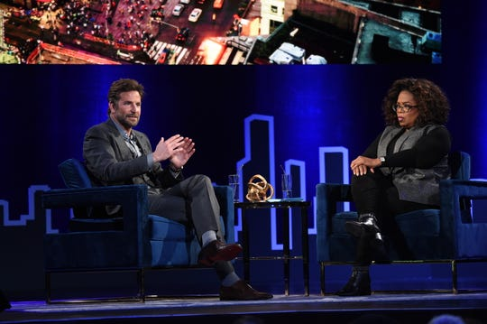 "Bradley Cooper talks about the death of his father with Oprah Winfrey for her ""SuperSoul Conversations."""