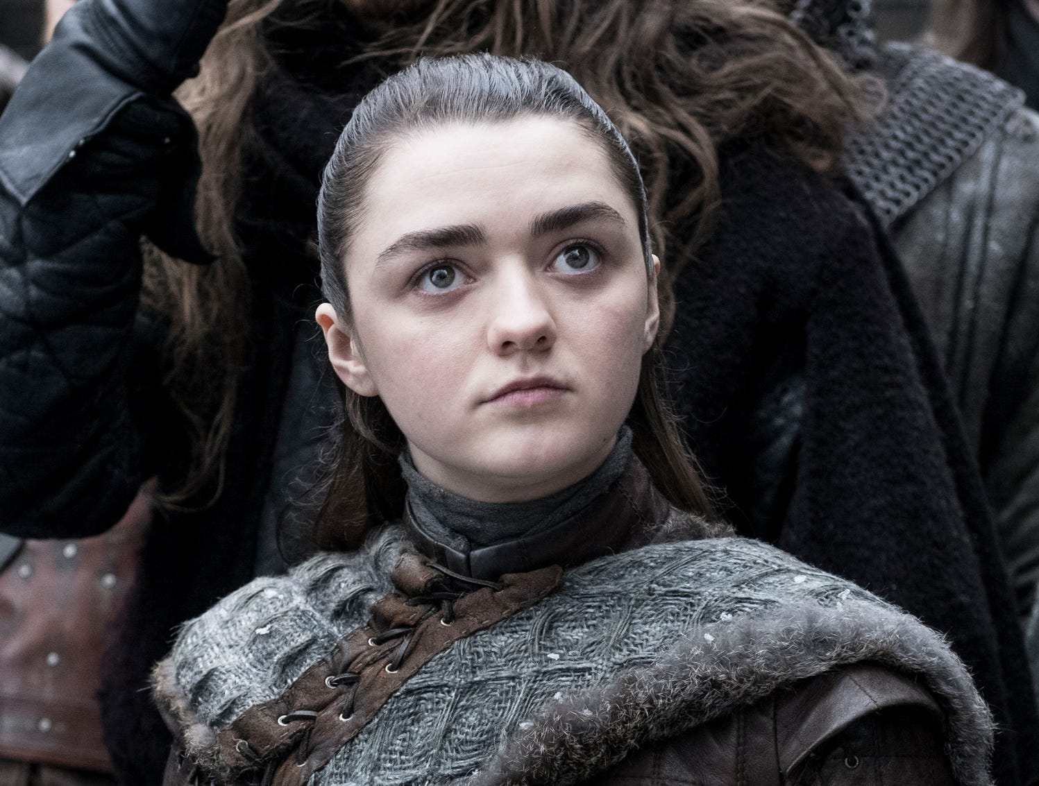 "Maisie Williams as Arya Stark on ""Game of Thrones."""