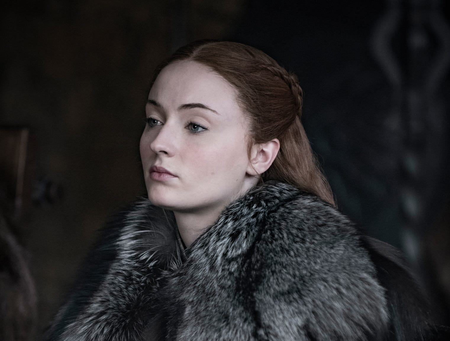 "Sophie Turner stars as Sansa Stark on ""Game of Thrones."""