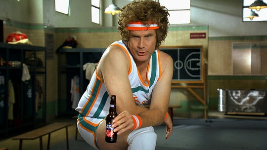 Will Ferrell as Jackie Moon from the movie Semi-Pro.
