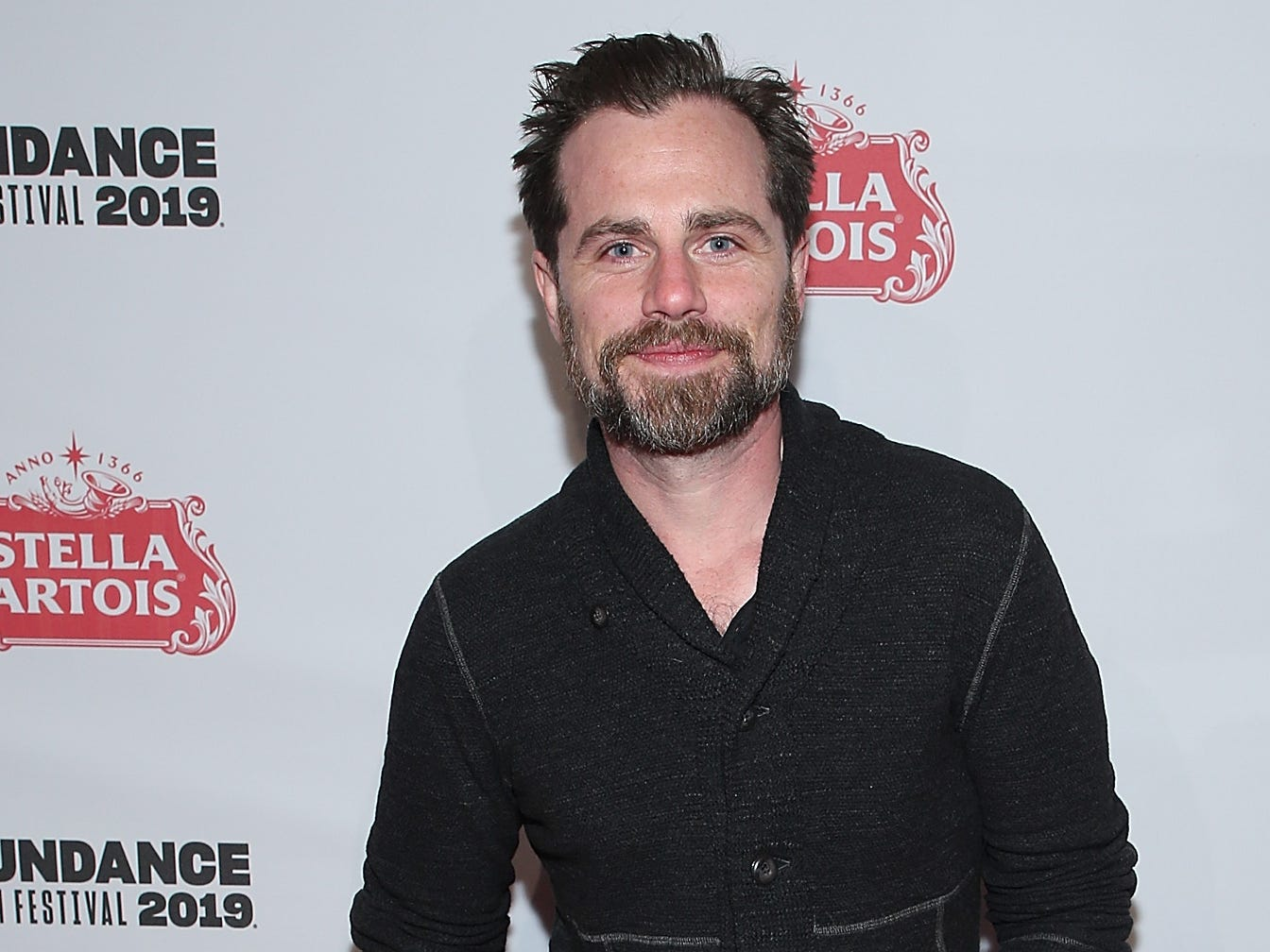 "PARK CITY, UT - JANUARY 26:  Rider Strong attends the ""Paradise Hills"" celebration at Stella's Film Lounge during The 2019 Sundance Film Festival at Stella's Film Lounge on January 26, 2019 in Park City, Utah.  (Photo by Phillip Faraone/Getty Images for Stella Artois ) ORG XMIT: 775287374 ORIG FILE ID: 1090114000"
