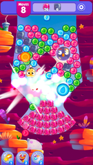 Angry Birds Dream Blast: Rovio's latest puzzle game has you popping colorful bubbles.