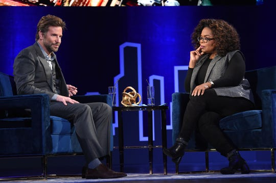 "Bradley Cooper sat down to chat with Oprah Winfrey for ""SuperSoul Conversations."""