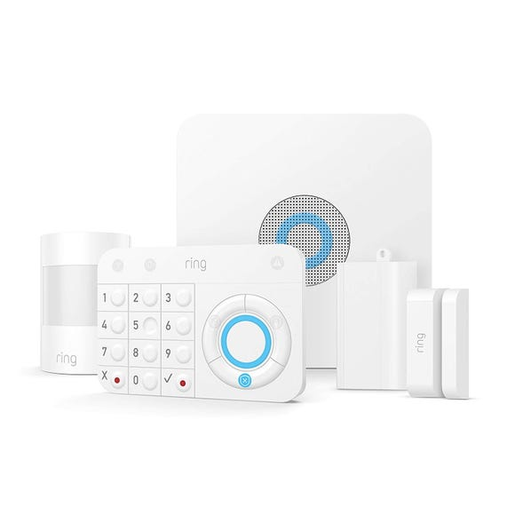 Keep an eye on your home from anywhere with this smart alarm system.