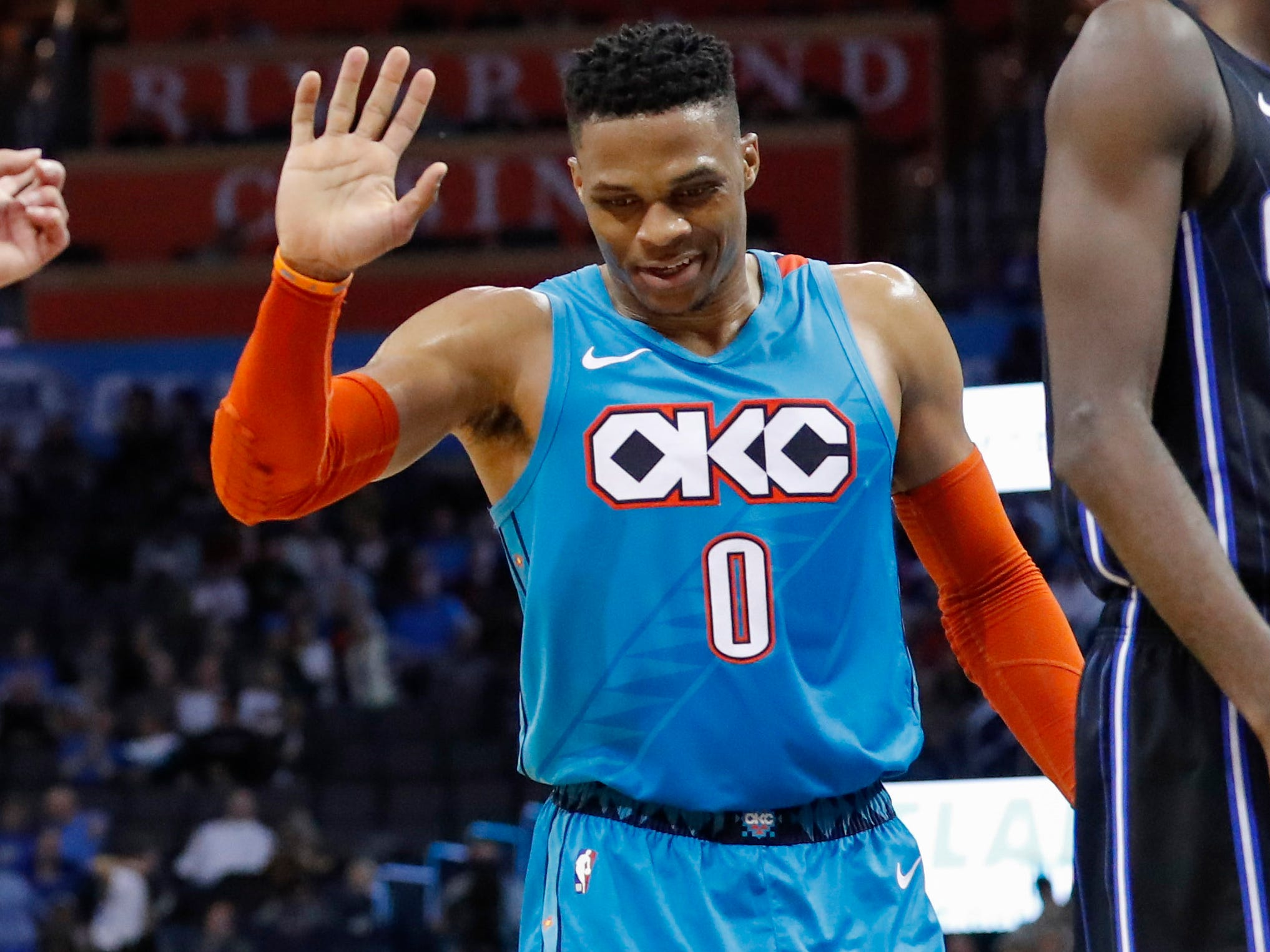 73. Russell Westbrook, Thunder (Feb. 5):16 points, 15 rebounds, 16 assists in 132-122 win over Magic (20th of season).
