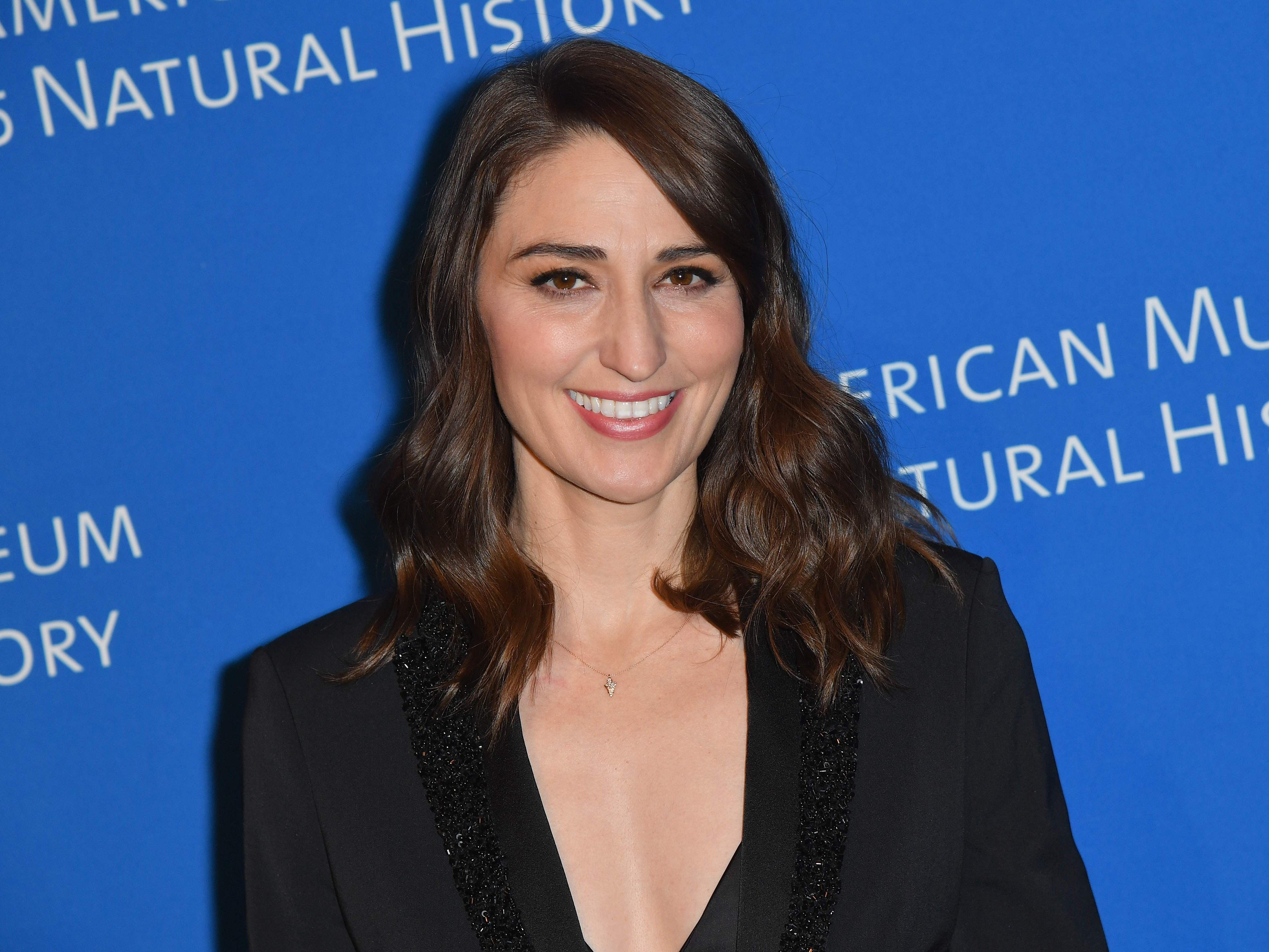 Singer/songwriter Sara Bareilles attends the American Museum of Natural History's 2018 Museum Gala on November 15, 2018 in New York City. (Photo by Angela Weiss / AFP)ANGELA WEISS/AFP/Getty Images ORG XMIT: American ORIG FILE ID: AFP_1AV9HM
