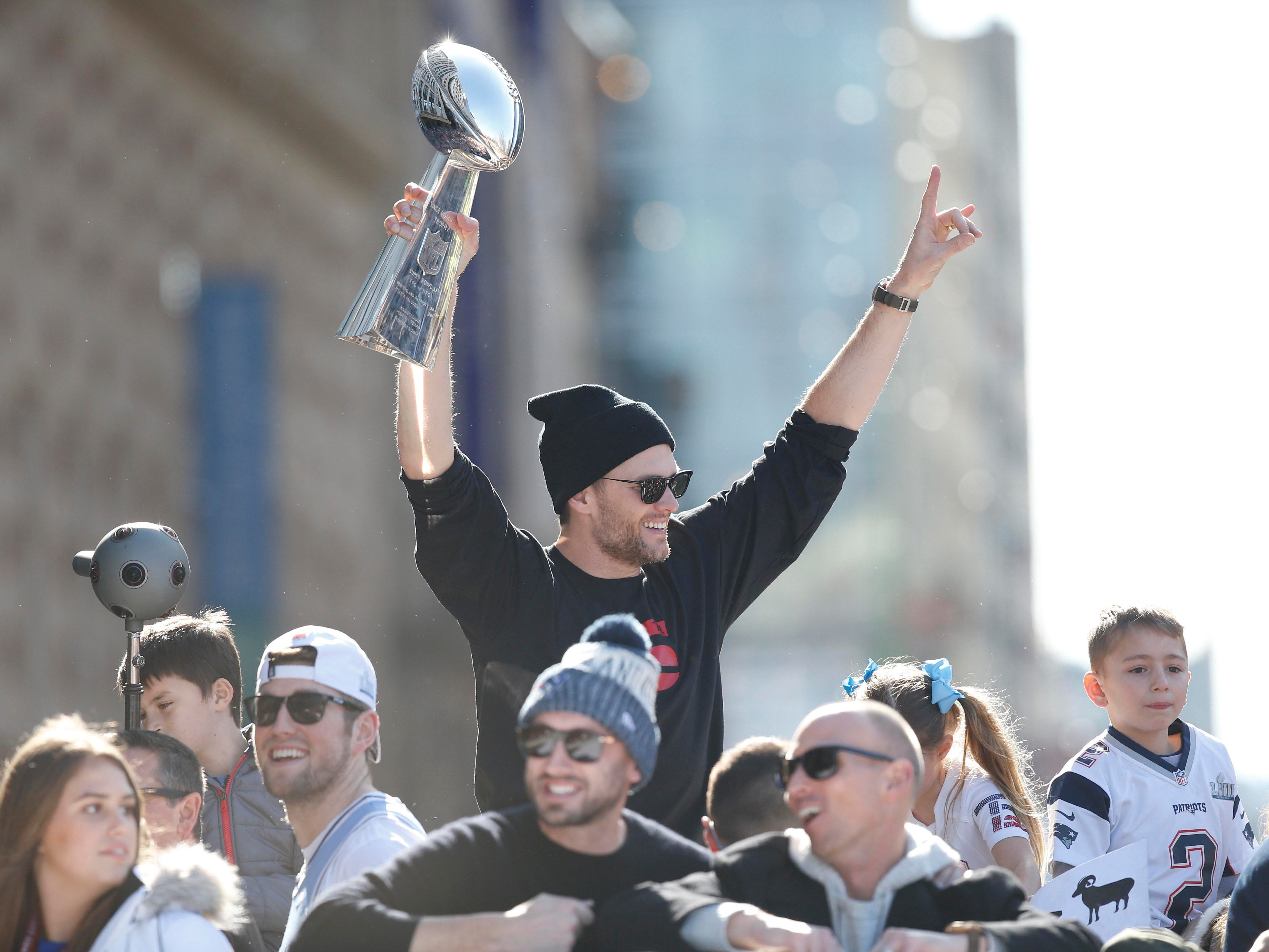 1. Patriots (7): What's left to say? Definitively the greatest dynasty in NFL history, even on heels of subpar (by their standards) regular season. Now in a race with Pittsburgh to be first seven-time Super Bowl champions.