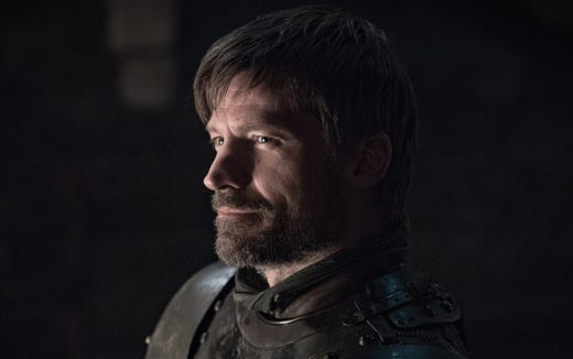 Nikolaj Coster-Waldau as Jaime Lannister on