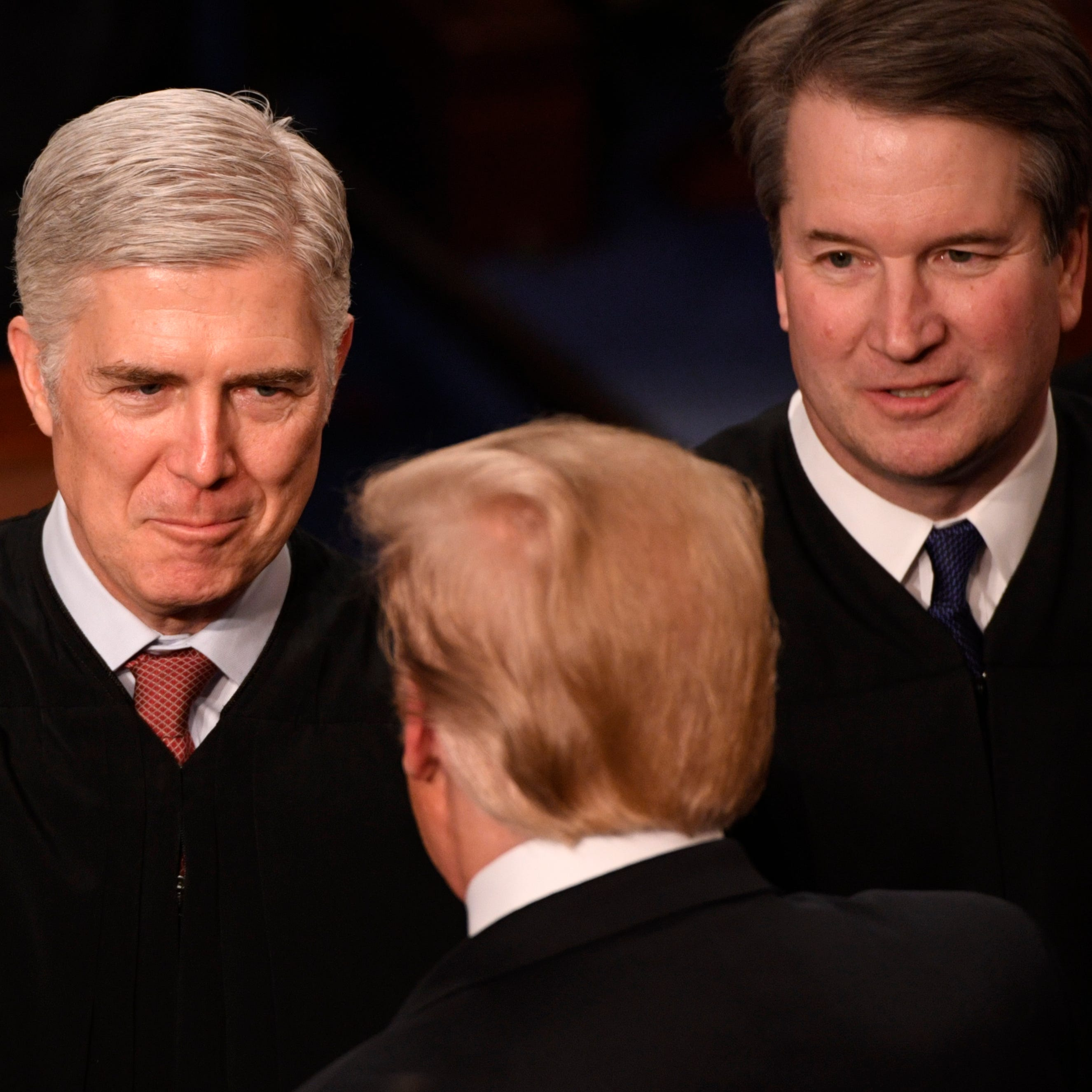 Only four of nine Supreme Court justices attend Trump's 2019 State of the Union address