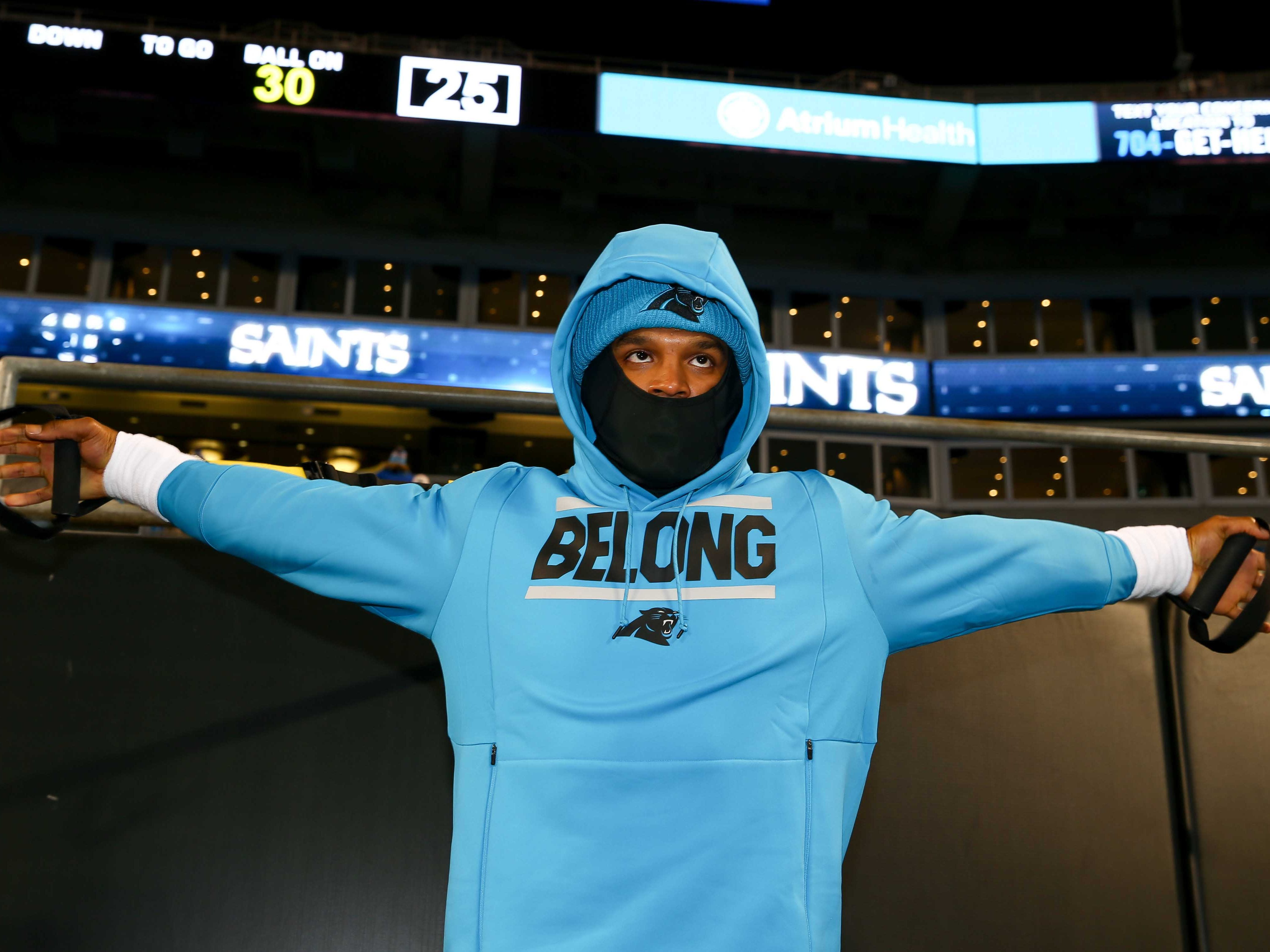 21. Panthers (20): Is 1-7 second half easily explained away by Cam Newton's bum shoulder, or is a more serious issue afoot? Several prominent vets not returning.