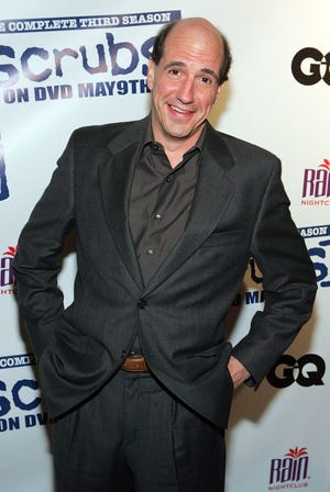 """Sam Lloyd, an actor known for his role on the comedy """"Scrubs,"""" has died after a battle with cancer. He was 56."""