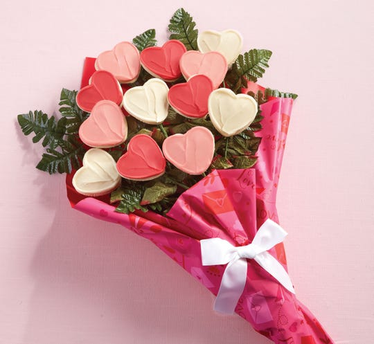 Cheryl's Cookies Long Stemmed Buttercream Frosted Cookie Flowers are $39.99 at www.cheryls.com