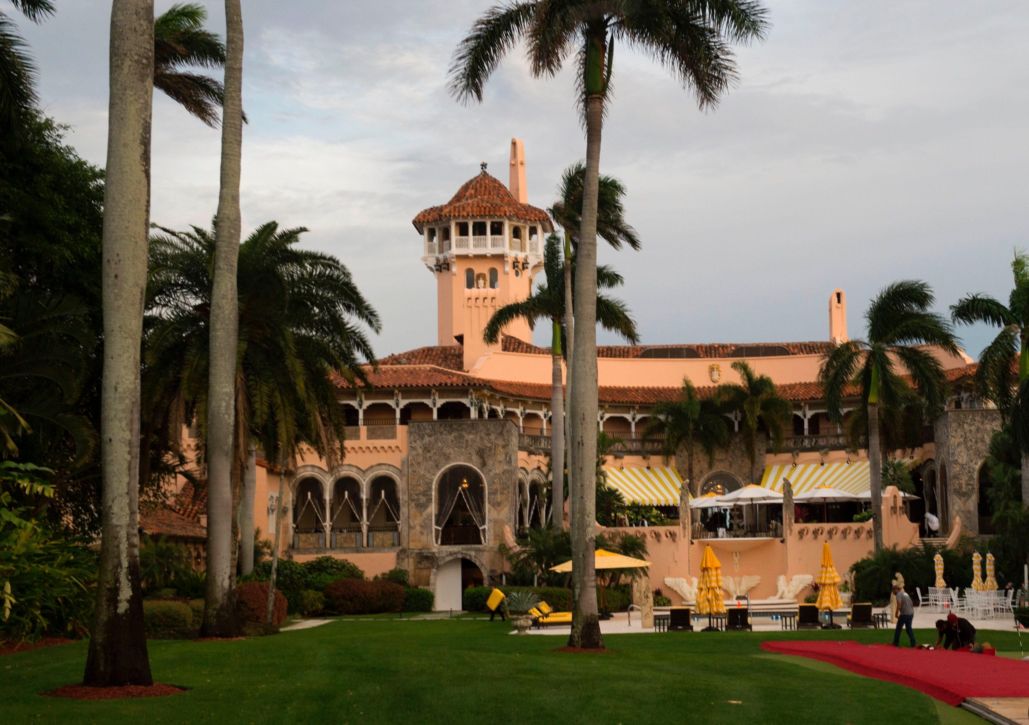 Trump picks golf club,