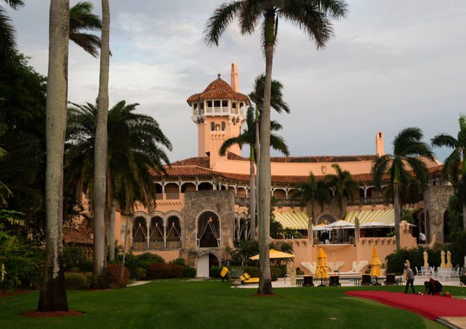President Donald Trump often spends time at the Mar-a-Lago Club in Palm Beach, Fla.