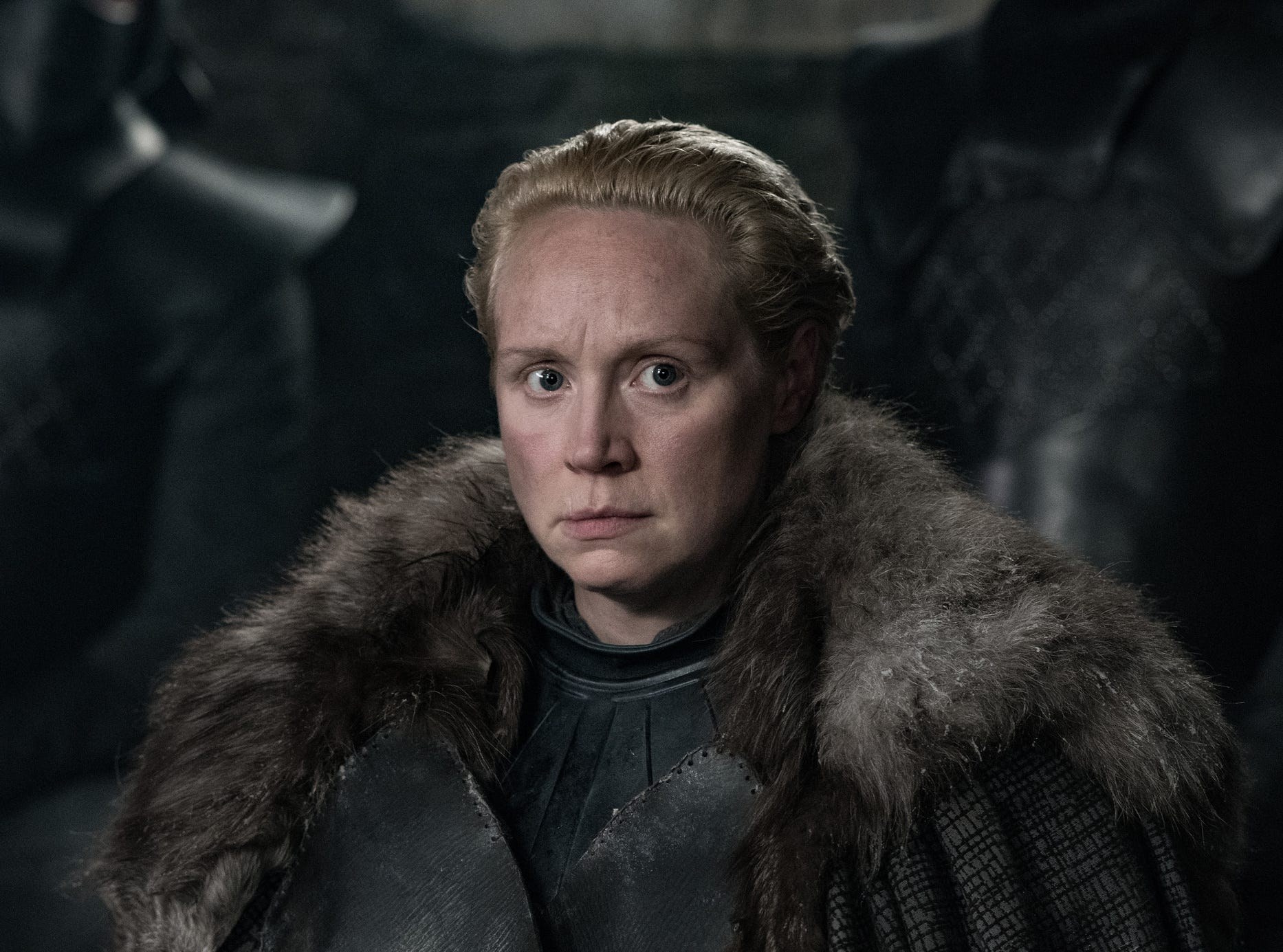 "Gwendoline Christie as Brienne of Tarth on ""Game of Thrones"""