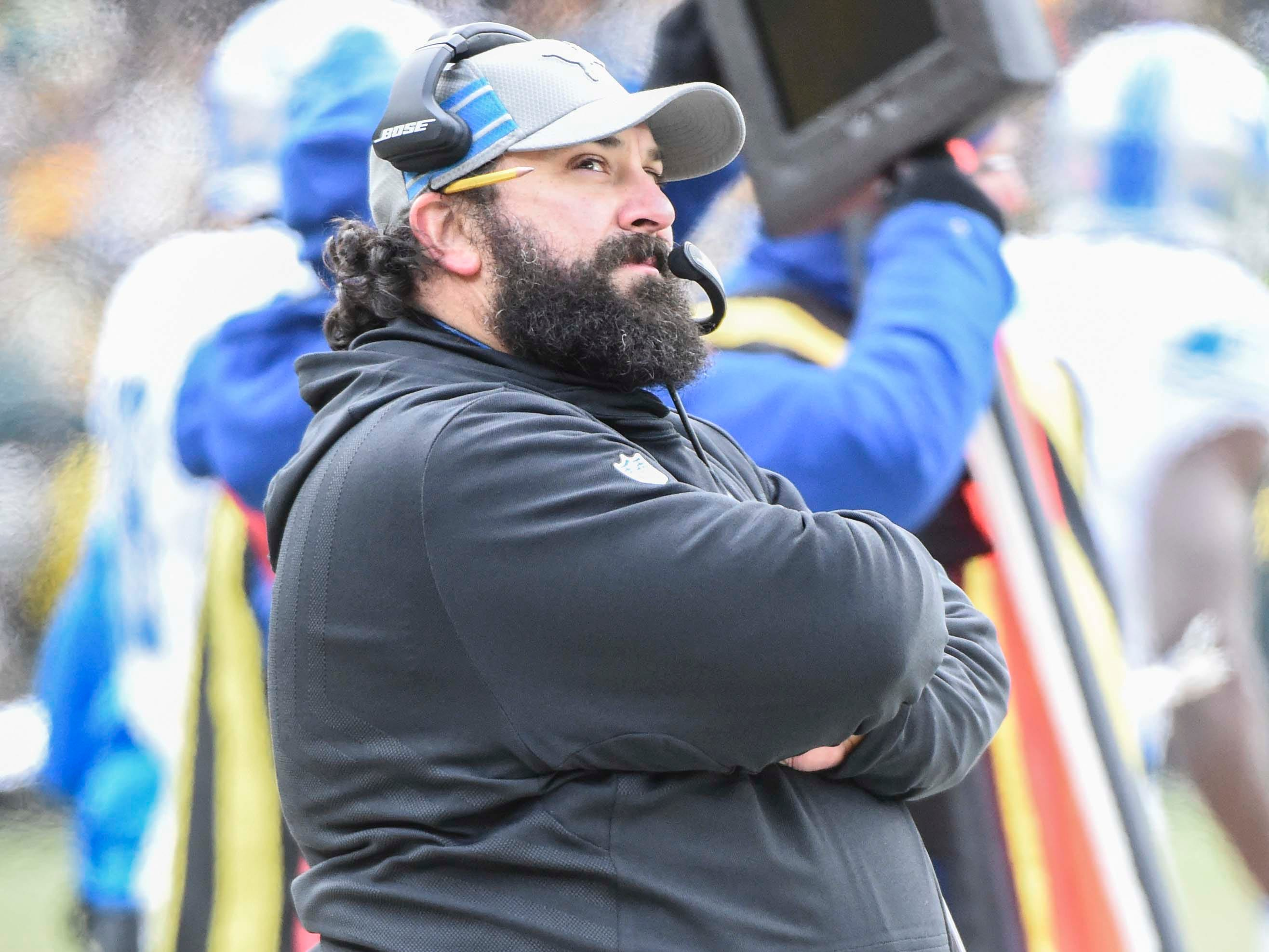 29. Lions (28): Matt Patricia's players didn't respond on field, and he didn't respond to adversity very well away from it. Hot seat will be pre-warmed in 2019.