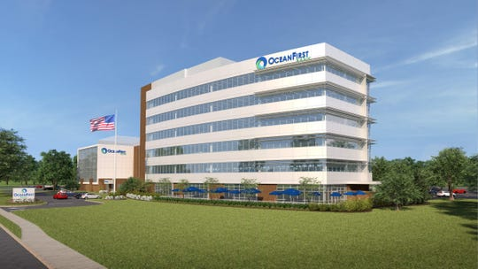 OceanFirst Financial Corp. is planning a seven-story expansion of its headquarters in Toms River.