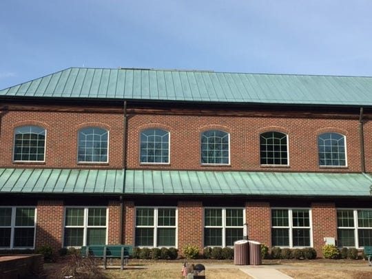Windows at Toms River town hall