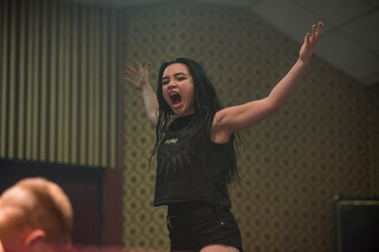 "Florence Pugh stars as Paige in ""Fighting With My Family,"" directed by Stephen Merchant, a Metro Goldwyn Mayer Pictures film."