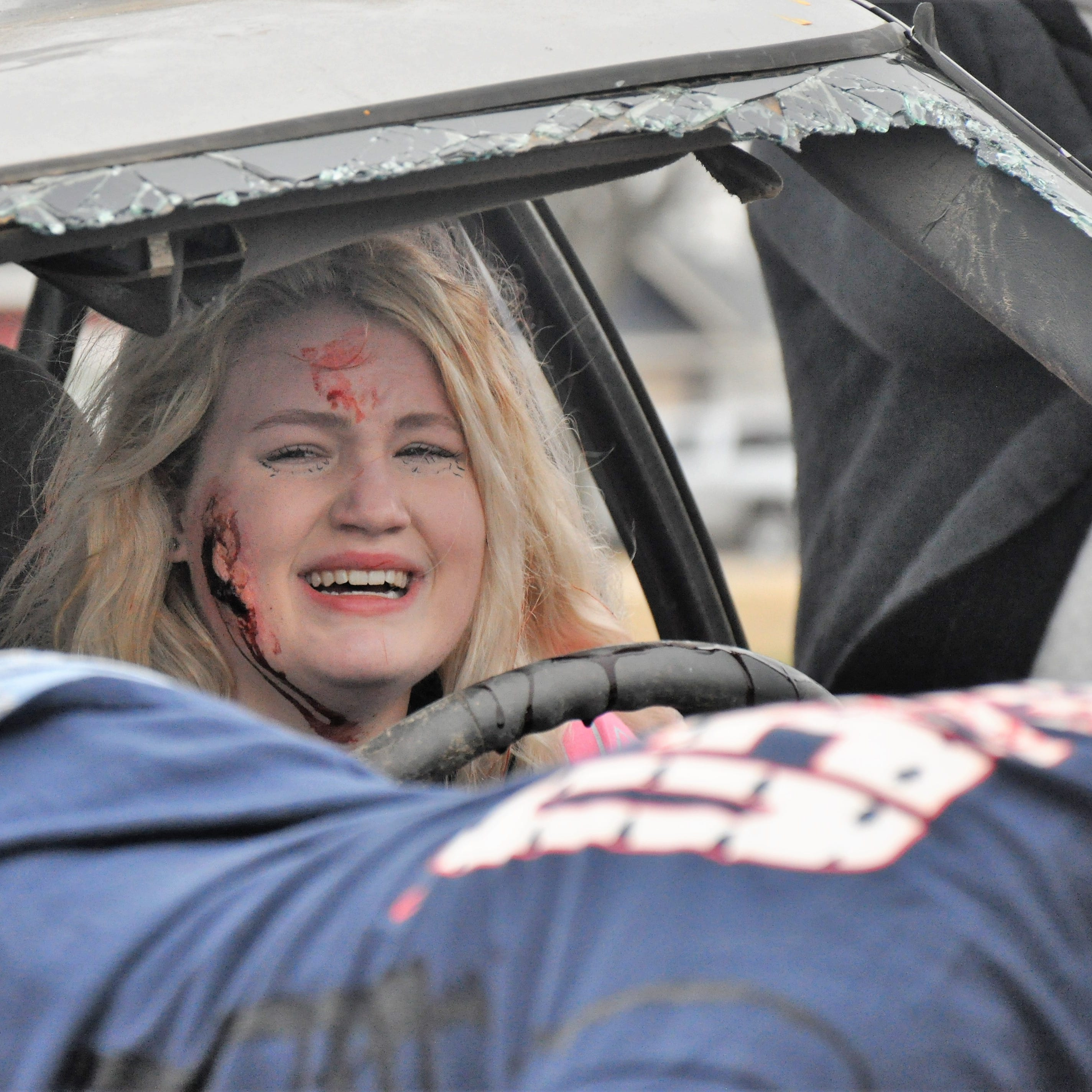 Sobering reality: Jim Ned students experience real emotions after mock crash