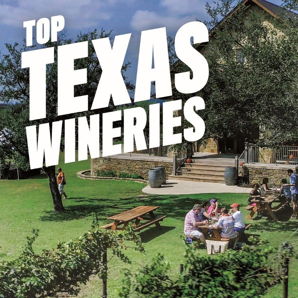 Texas Reads: New guidebooks feature Texas wines, wildflowers