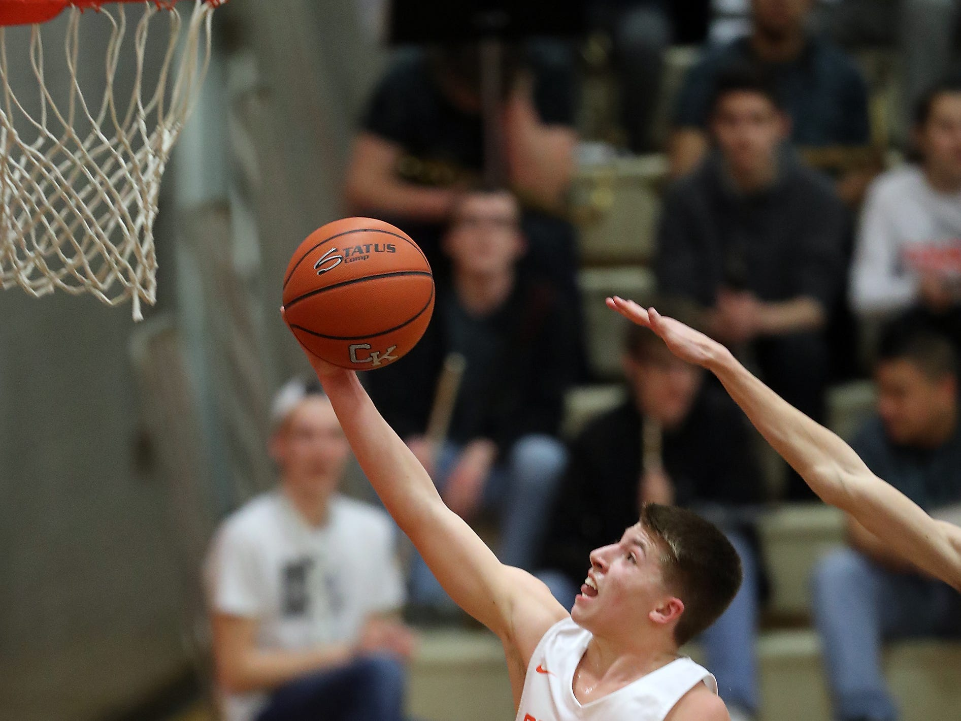 Central Kitsap vs Mountain View boys basketball in Silverdale on Wednesday, February 6, 2019.