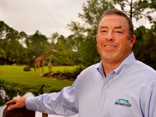 Keith Winsten, executive director of the Brevard Zoo, was recognized by LEAD Brevard with the organization's prestigious Rodney S. Ketcham Leadership Icon Award.
