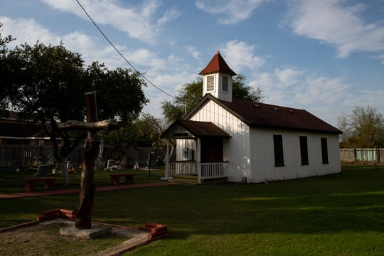 The Jackson Chapel United Methodist Church in San Juan, Texas will be placed south of the soon-to-be-constructed border wall, placing the church on the Mexico side of the wall.